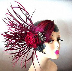 how to make a 1920s fascinator