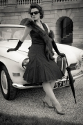 A classic vintage look at one of our 1950's hen parties