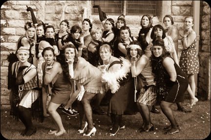 Spiffing fun! A 1920s hen party in Cheltenham, Great Gatsby style ...
