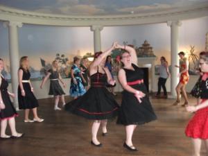 1950s dance class