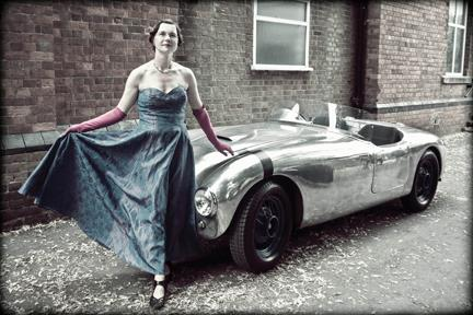 Vintage Car Photoshoot