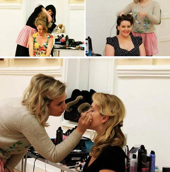 1950s Hair and Make Up