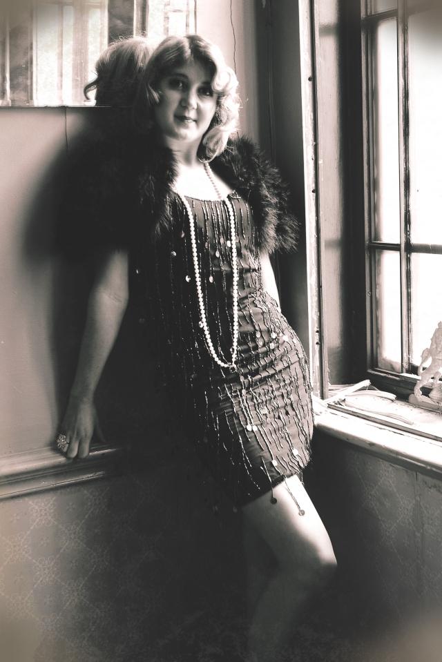 1920s hair and make up