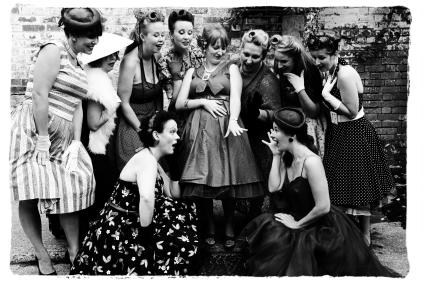 1950s hen party