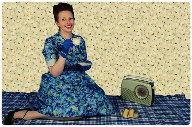 1950s photoshoot