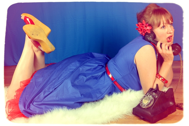 1950s pin up photoshoot