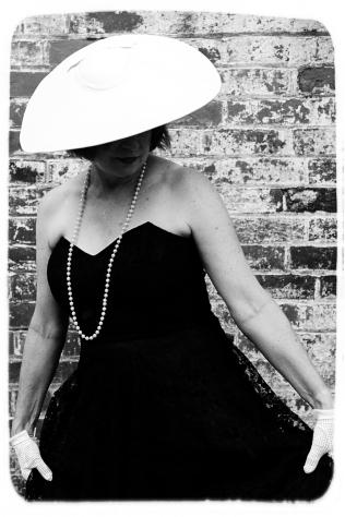 Vintage vogue with hat
