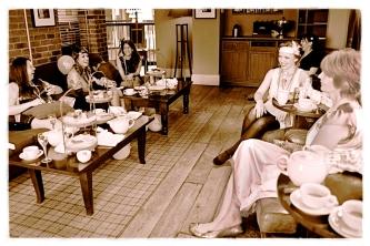 Afternoon tea in Cheltenham
