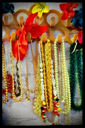 Vintage dressing up accessories