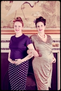 vintage dressing up with bumps