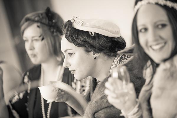 1940s afternoon tea