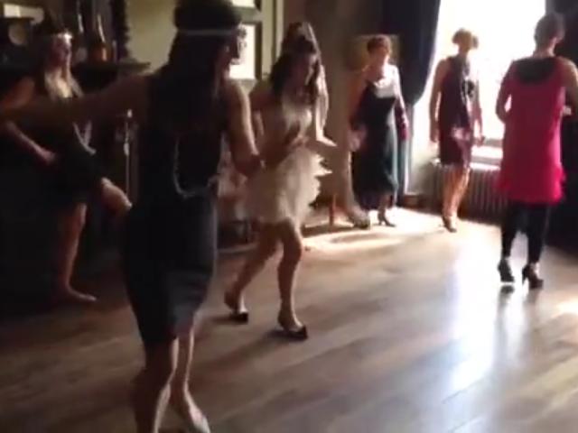 hen party Charleston dance class Cheltenham