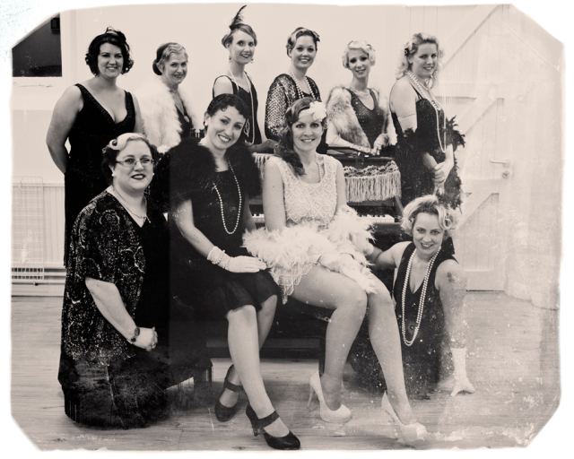 1920s hen party near Reading